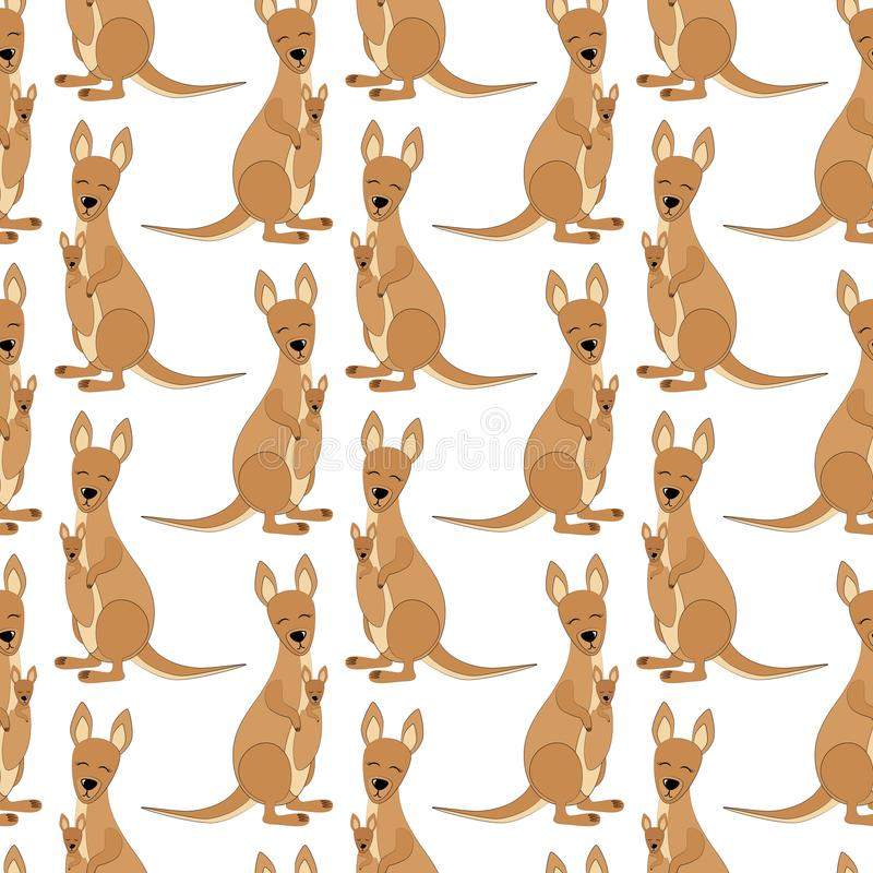 2018 01 23_kangaroo ilustración del vector