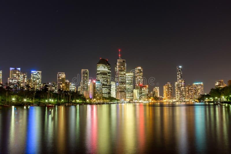 Kangaroo Point, Brisbane Australia royalty free stock photos