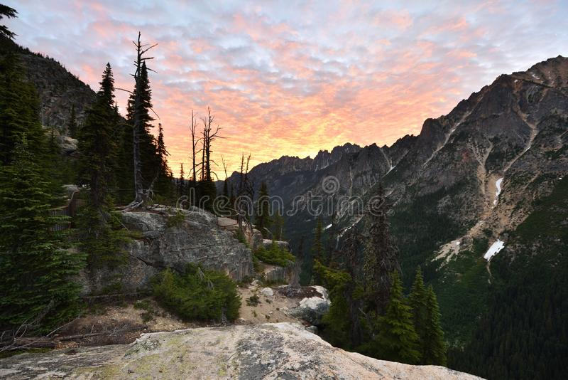 Kangourou Ridge au lever de soleil images libres de droits