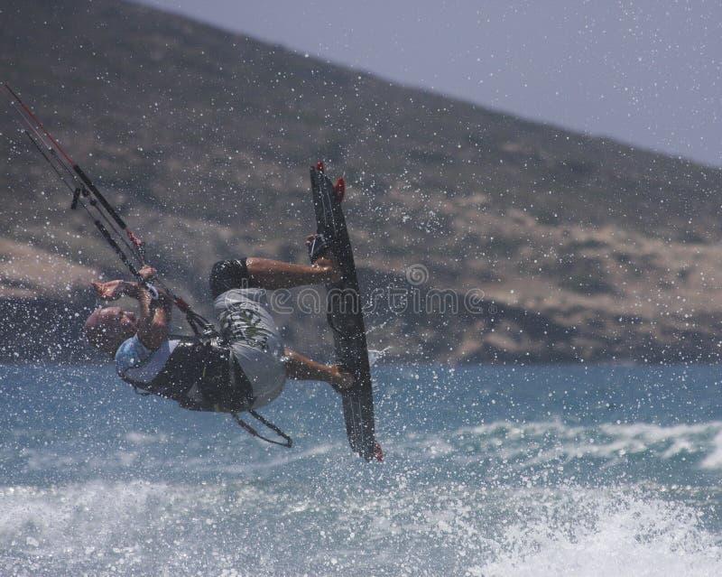 Kania surfingowa doskakiwanie obrazy royalty free