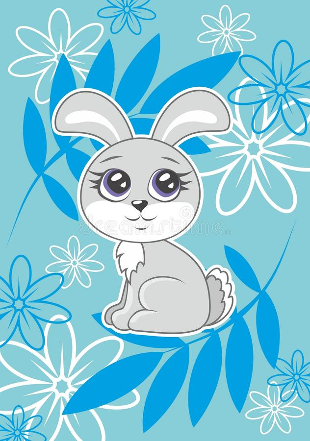 kanin vektor illustrationer