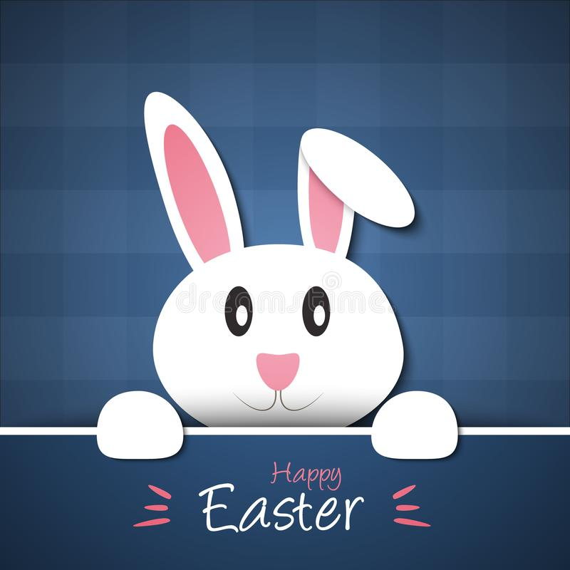 kanin easter royaltyfri illustrationer