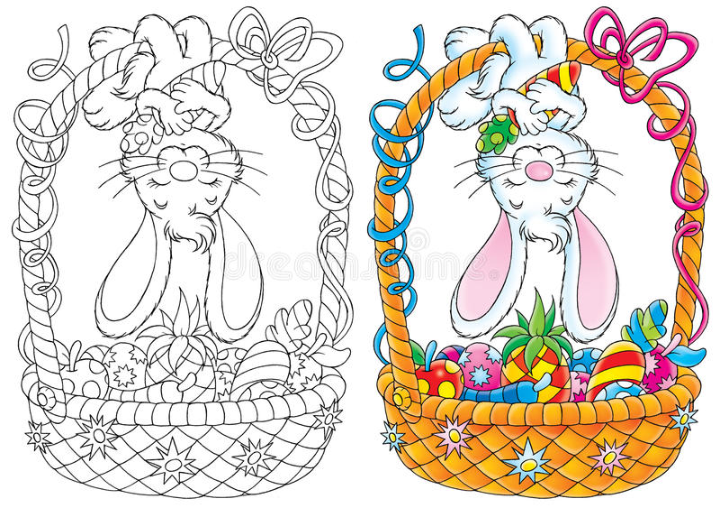 Kanin Easter Royaltyfri Foto
