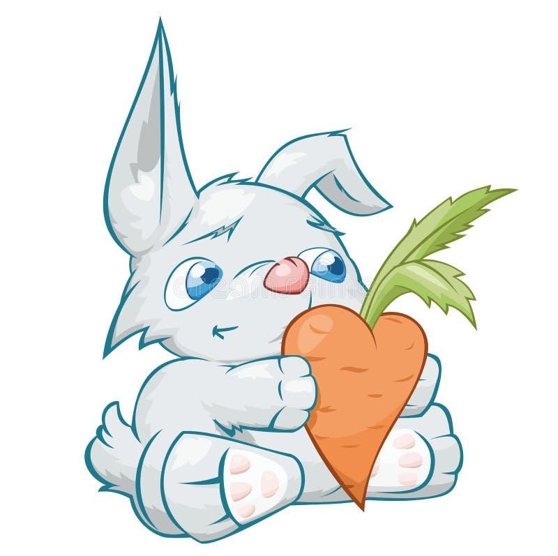 Kaninchen in der Liebe lizenzfreie abbildung