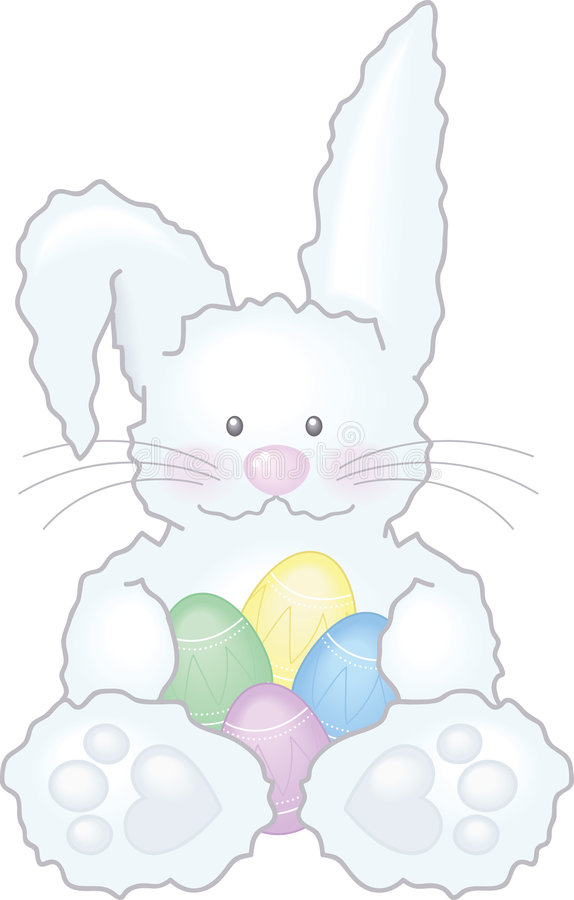 kanineaster illustration arkivfoton