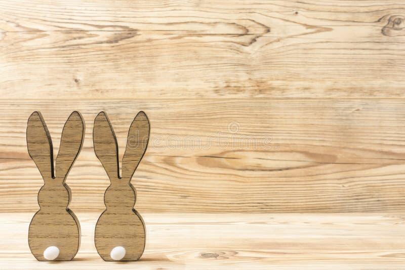 kaniner easter två royaltyfria foton