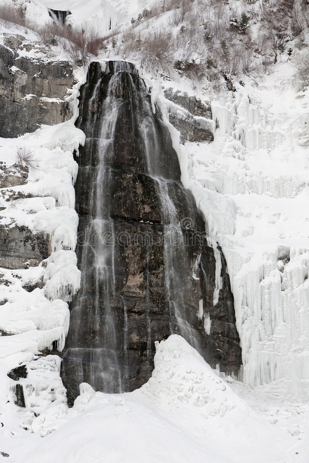 kanion ślubne provo, Utah się welon obraz stock