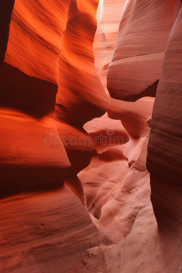 kanion antylopy zdjęcie stock