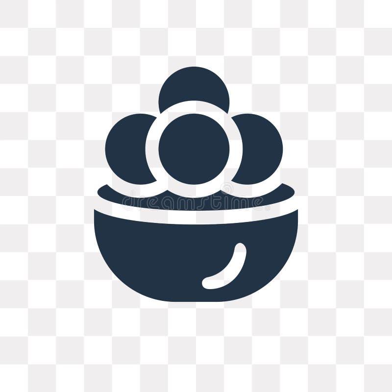 Kanji διανυσματικό εικονίδιο vadas που απομονώνεται στο διαφανές υπόβαθρο, Kanj ελεύθερη απεικόνιση δικαιώματος