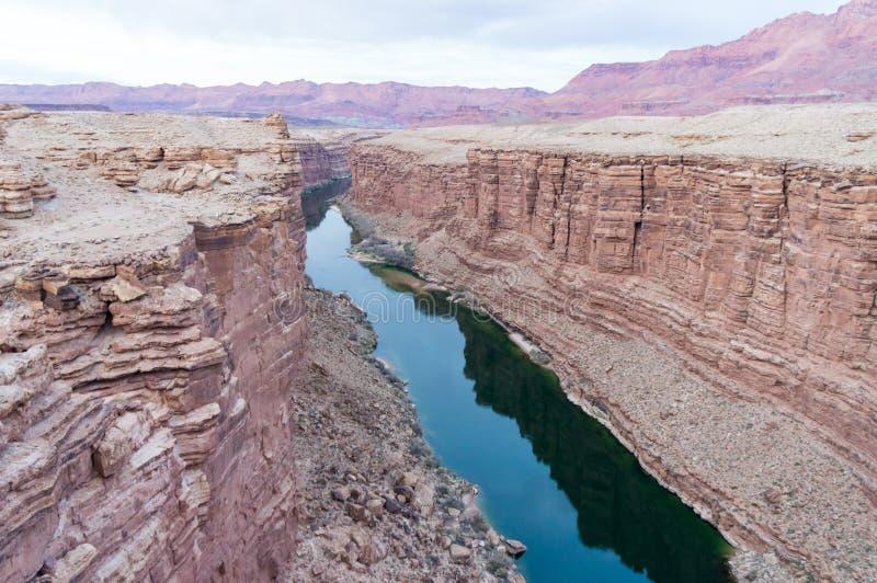 Kanjon Coloradofloden arkivfoton