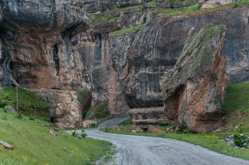 Kanjon i malatya, kalkon royaltyfria bilder