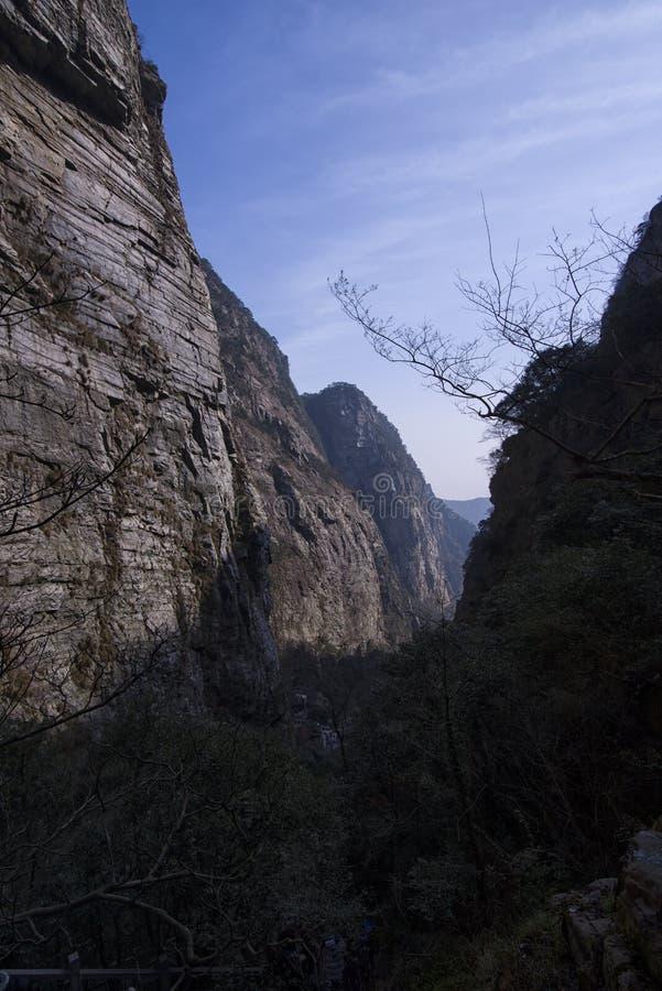 Kanjonen av det LuShanï ¼ŒJiang-XI-landskapet av Kina royaltyfri bild