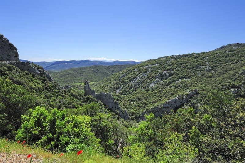Download Kanjonklyftor Av Galamus, Frankrike Arkivfoto - Bild av pyrenees, soligt: 27288184