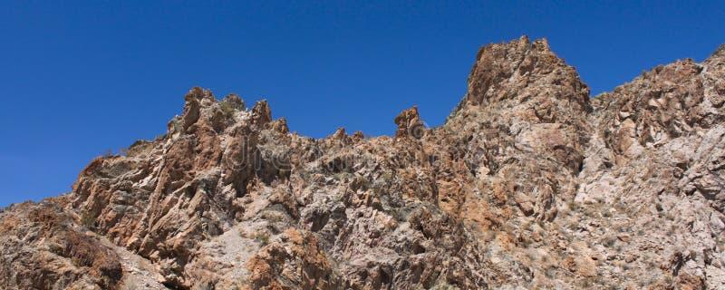 kanjonvinranka nevada arkivbilder