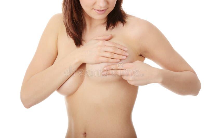 Kanker van de borst stock foto