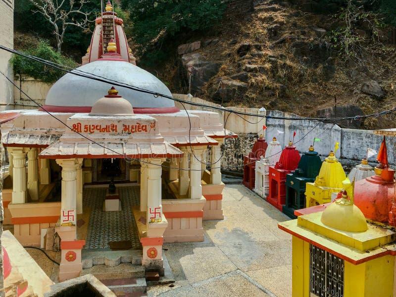 Kankleshwar Mahadev ShivaTemple, Índia de Idar Sabarkantha Gujrat imagem de stock