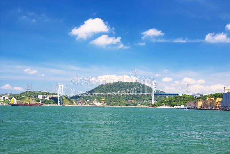 Kanmonkyo桥梁 库存照片