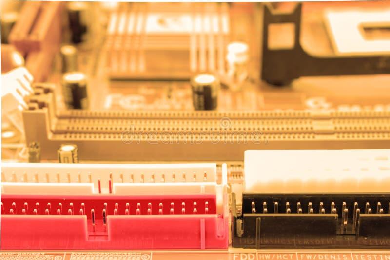 Kann als Hintergrund verwenden ElektronenrechenanlageGerätetechnik Digitaler Chip des Motherboards Technologiewissenschaftshinter lizenzfreie stockfotos