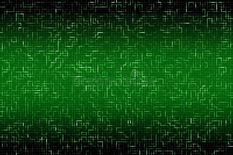 Kann als Hintergrund verwenden High-Teche Technologiehintergrundbeschaffenheit Muster vektor abbildung