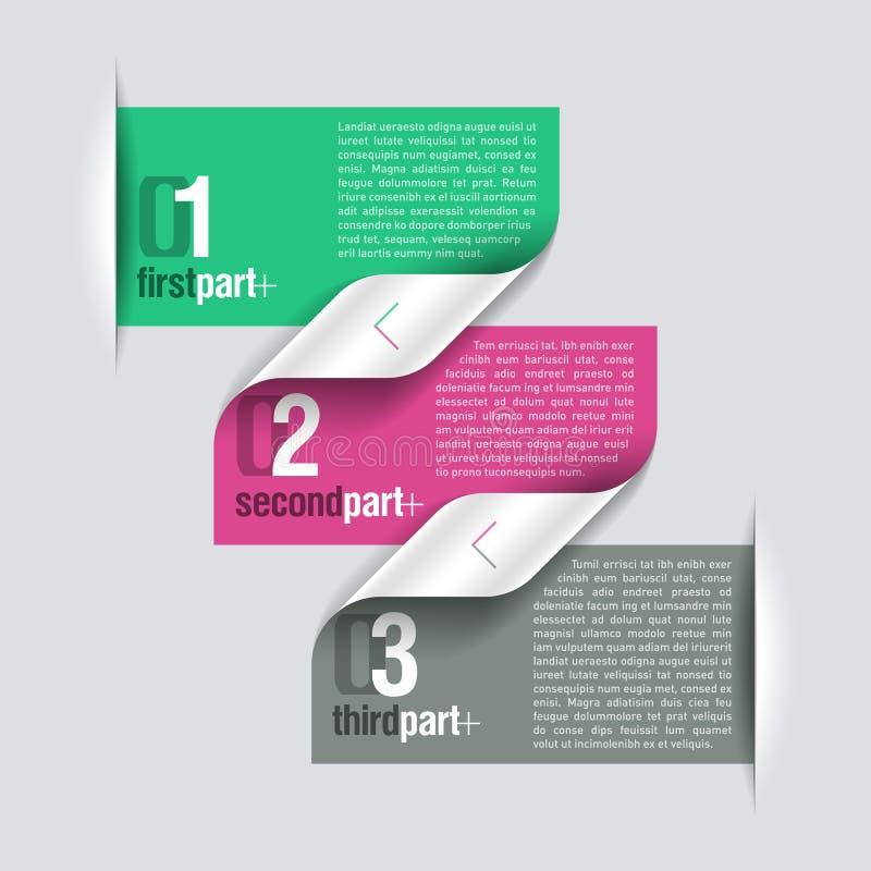 Entwurfsschablone lizenzfreie abbildung
