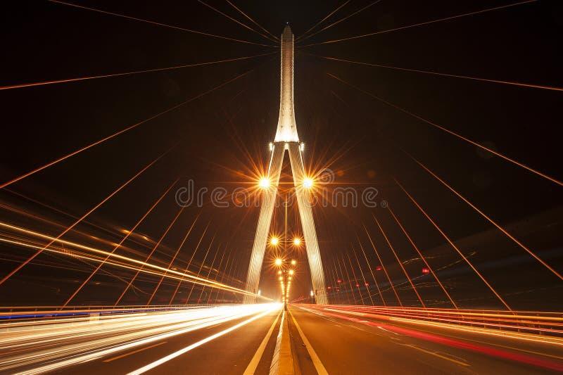Kann Tho Brücke, Vietnam stockbild