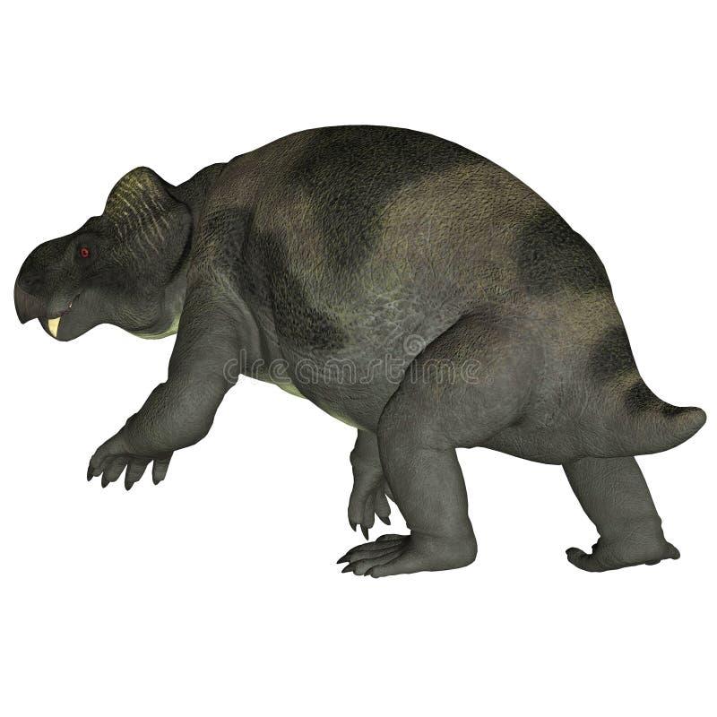Kannemeyeria dinosaura ogon ilustracja wektor