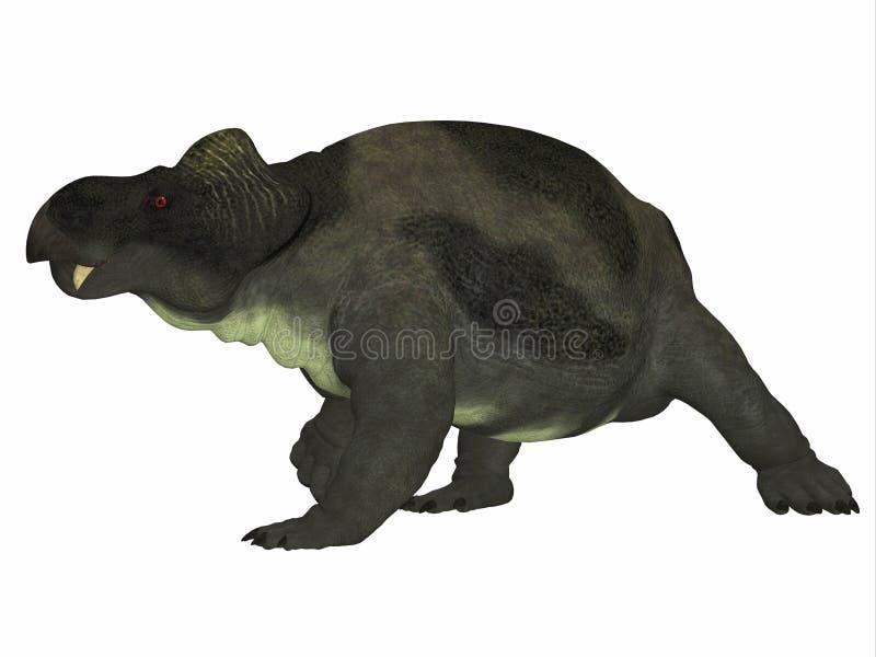 Kannemeyeria dinosaura strony profil ilustracji