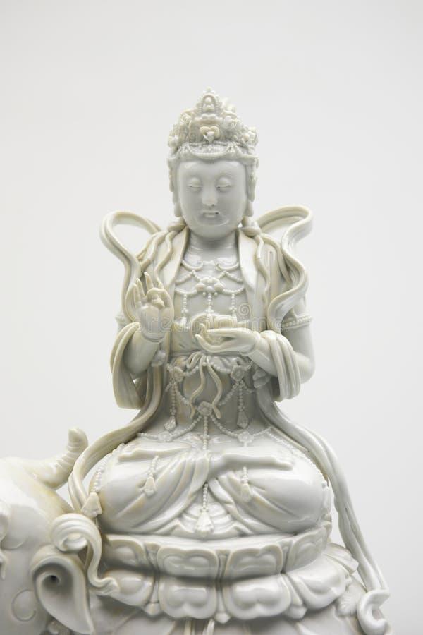 kannon άγαλμα στοκ εικόνες