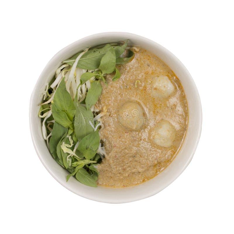 Download Kanom Jeen Le Ya De Nam : Nouilles De Riz En Sauce à Cari De Poissons Image stock - Image du épicé, gourmet: 76087007