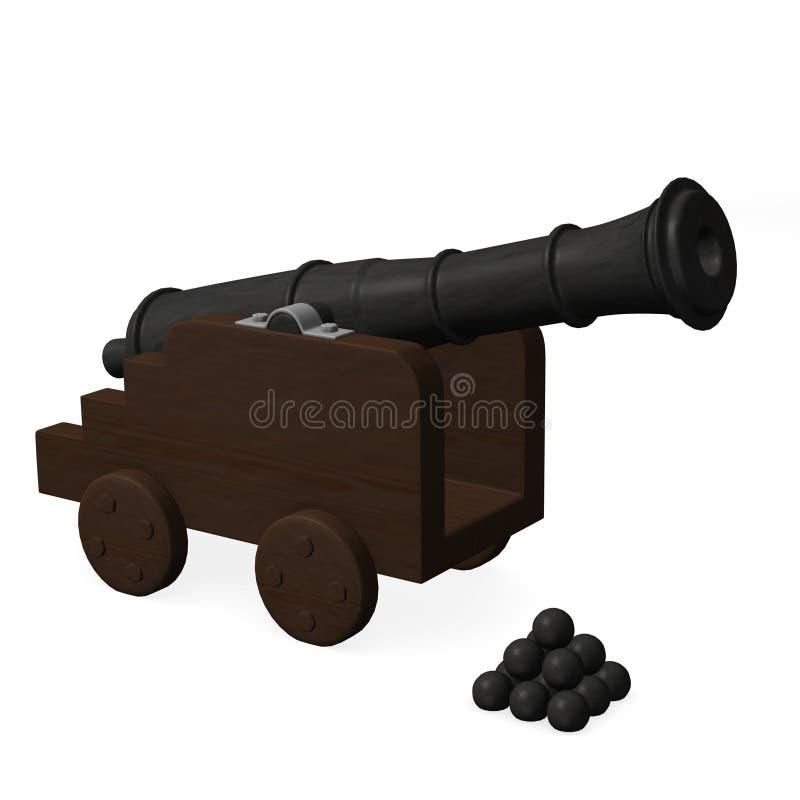 kanon ilustracja wektor