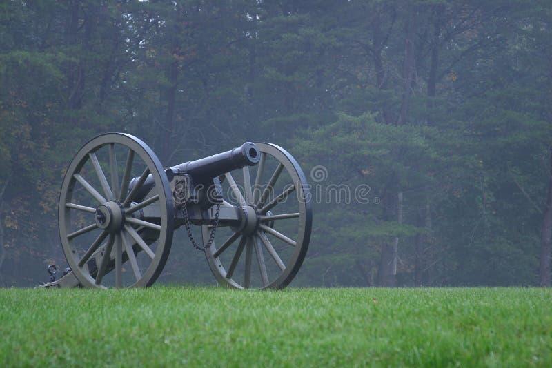 Kanon 3 van de Burgeroorlog royalty-vrije stock fotografie