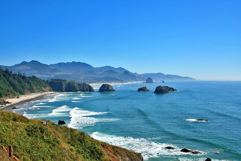 Kanone-Strand Oregon lizenzfreies stockfoto
