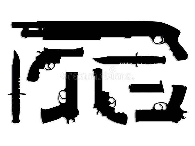Kanonnen stock illustratie