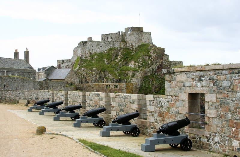Kanonnen royalty-vrije stock afbeelding