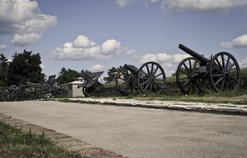 kanonnen stock fotografie