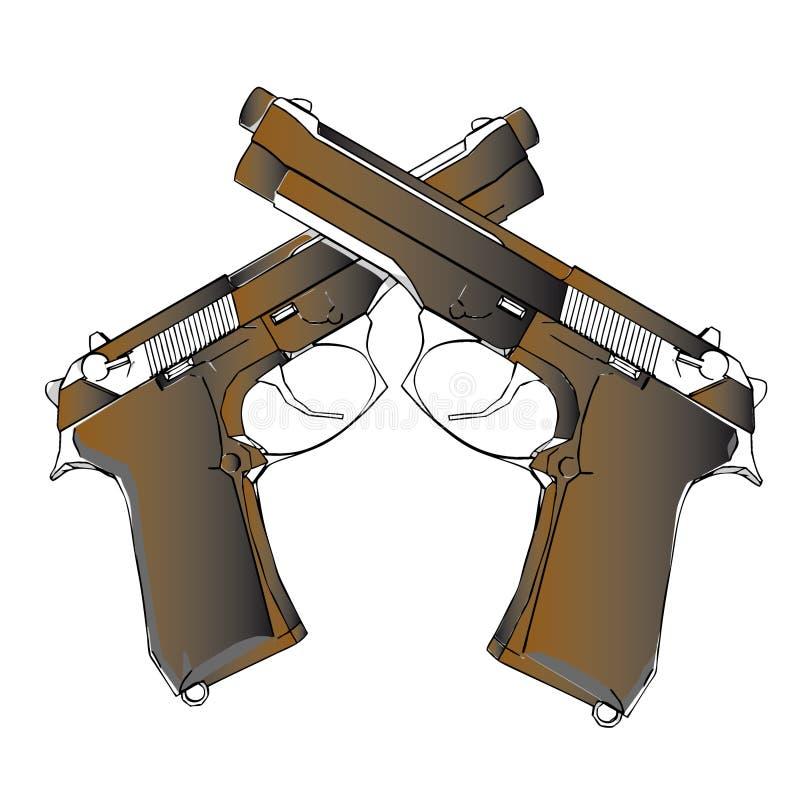 Kanonnen vector illustratie