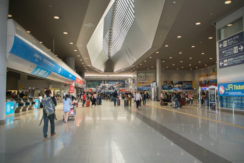 Kansai Internationale Luchthaven KIX, Osaka, Japan stock afbeelding