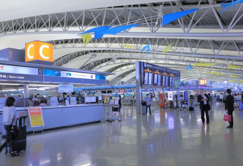 Kansai Internationale Luchthaven Osaka Japan royalty-vrije stock fotografie
