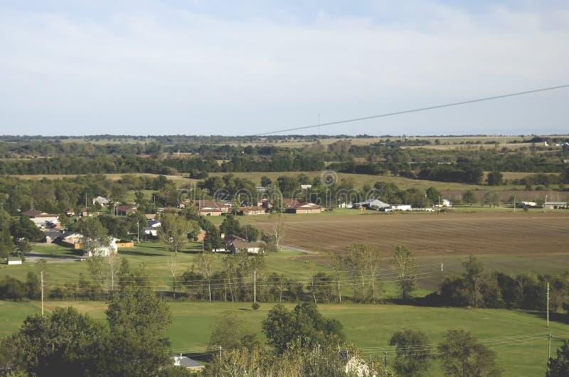 Kansas-Bauernhöfe stockbilder