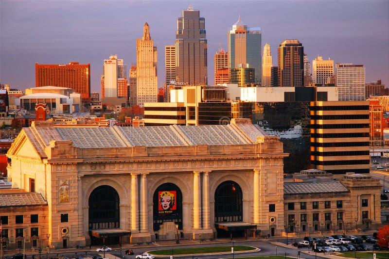 Kansas city zdjęcia royalty free