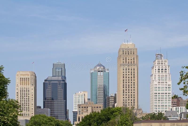 Kansas City fotografia stock libera da diritti