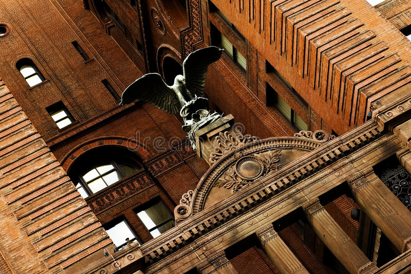 Kansas city budynku historycznego życia nowego Jorku obraz royalty free