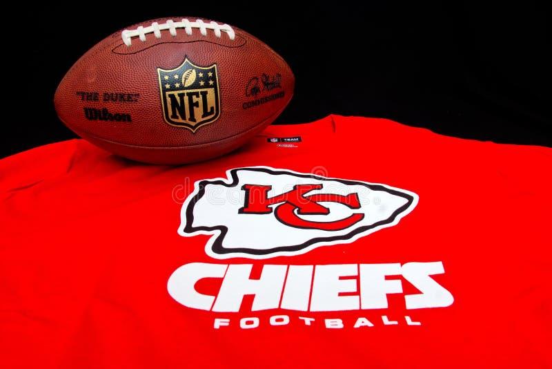 Kansas City Chiefs fotografie stock