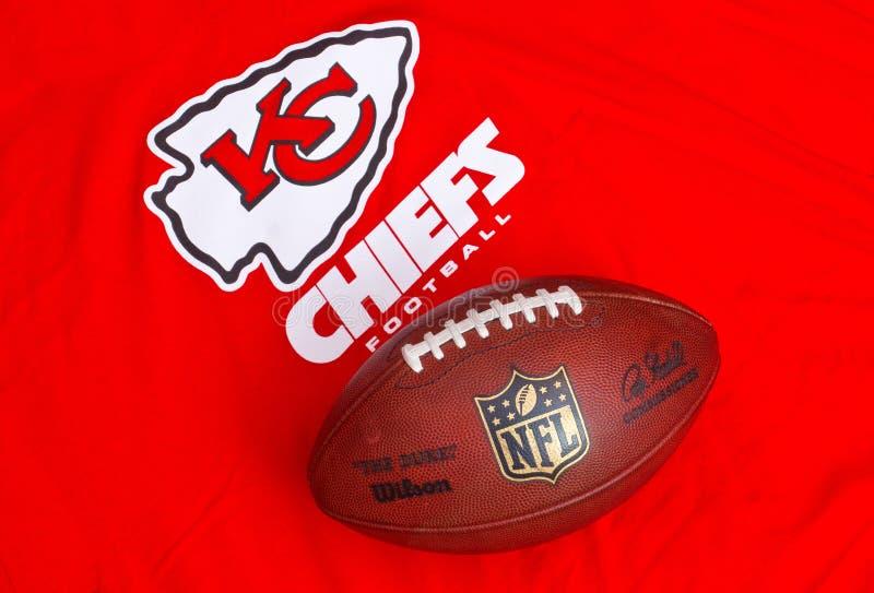 Kansas City Chiefs image libre de droits