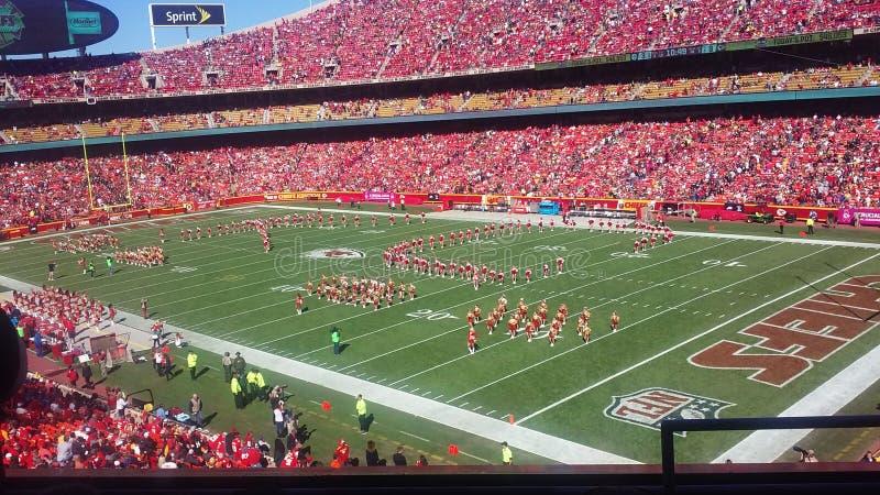 Kansas City Chiefs CONTRE Pittsburgh Steelers photos stock