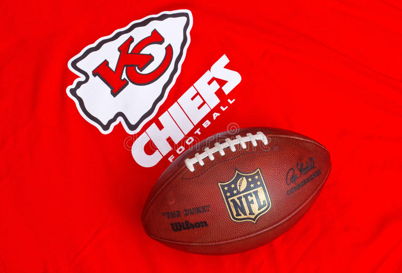 Kansas City Chiefs royalty free stock image