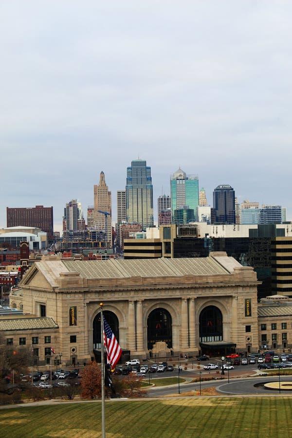 Kansas City Missouri foto de archivo libre de regalías