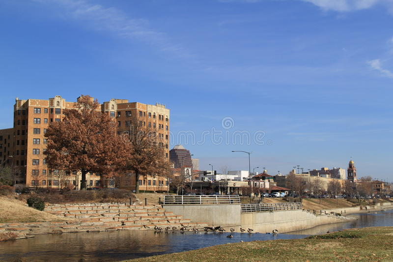 Kansas City Missouri royaltyfri bild