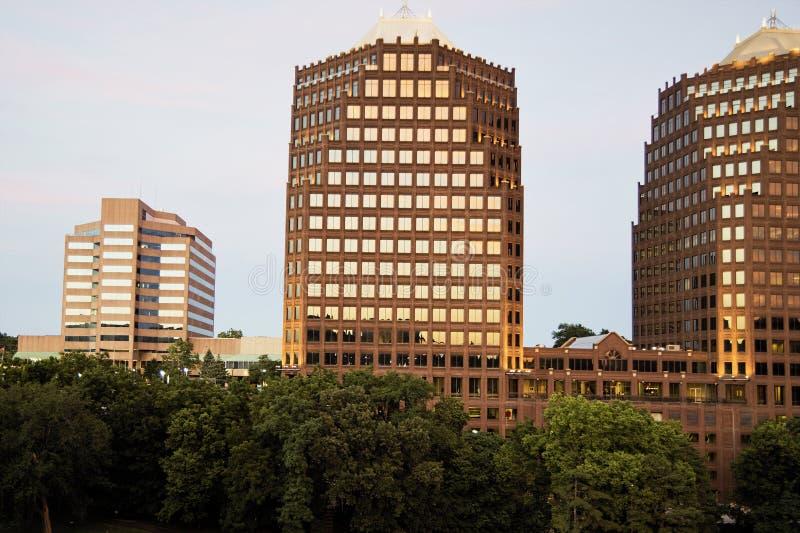 Kansas City Mo Architettura immagine stock libera da diritti