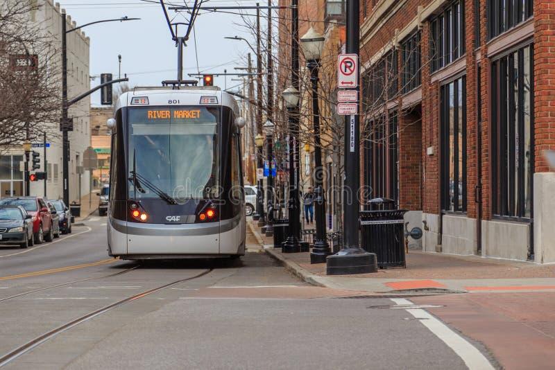 Kansas City tramwaj zdjęcia stock
